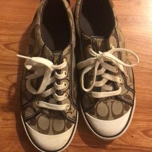 Coach Leather Sneaker